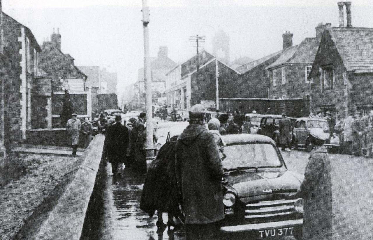 Marlborough Road looking north 1950