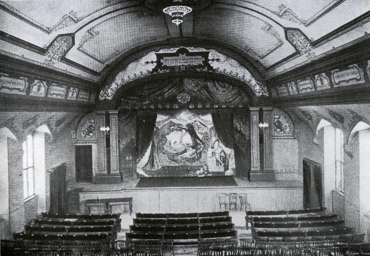 Emlyn Square, GWR Mechanics Institute The Theatre 1900