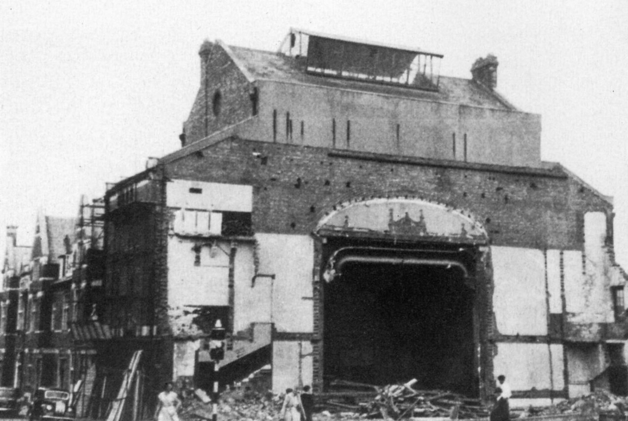 Clarence Street Groundwell Road, Empire Theatre, Demolition, 1959