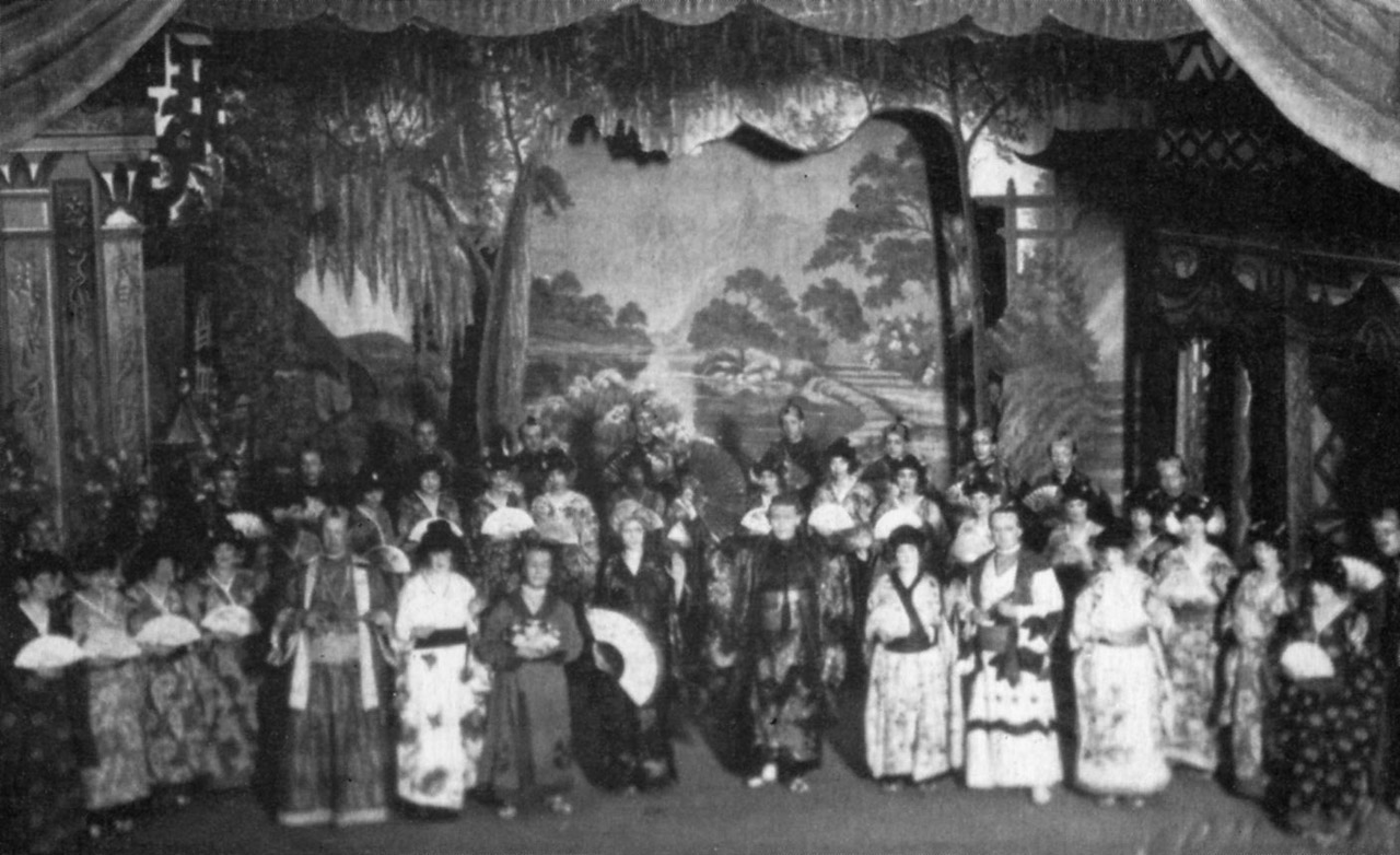 Clarence Street, Groundwell Road, Empire Theatre, The Mikado, 1915