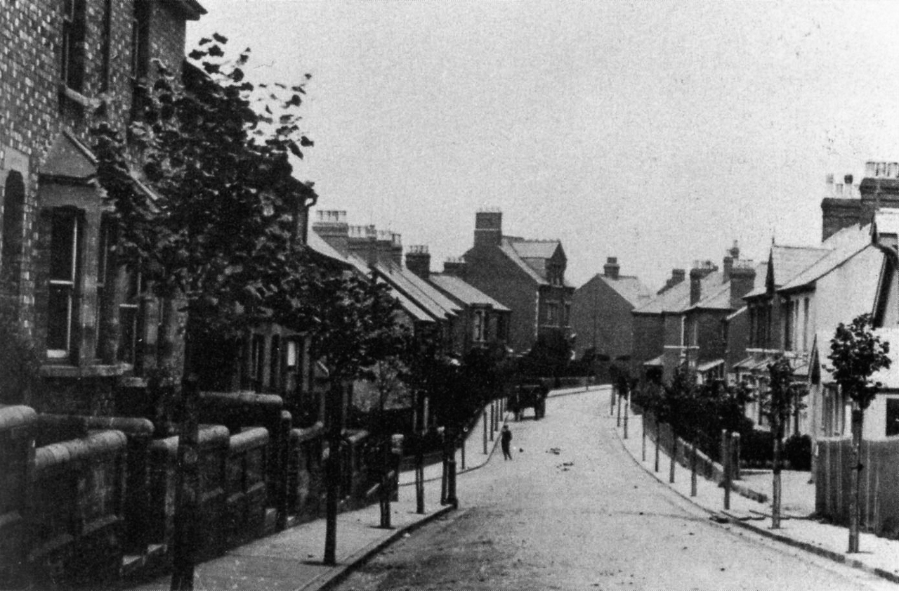 Ashford Road, looking north, 1910