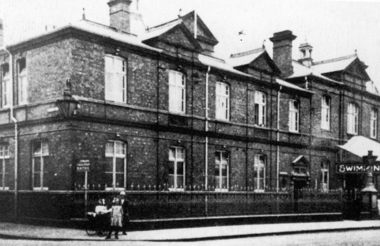 Milton Road, Medical Fund Society Swimming Baths, 1905 | Swindon ...