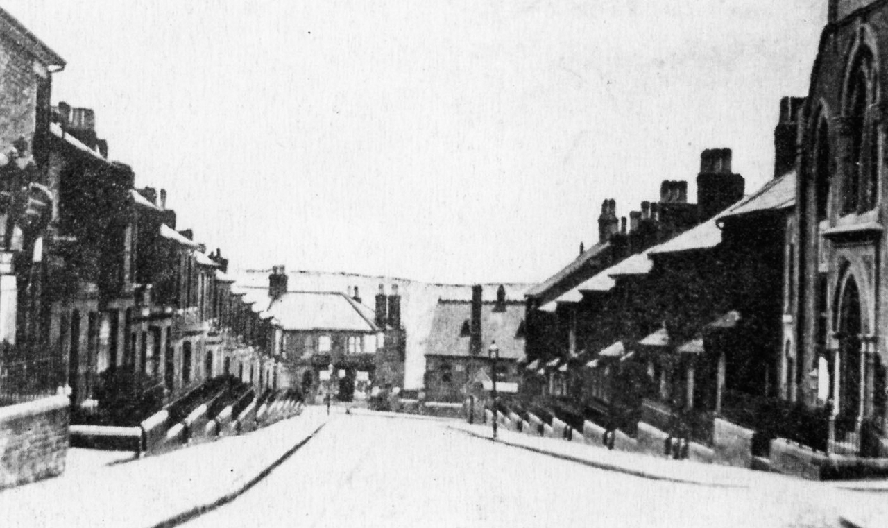 Clifton Street, looking north, 1910