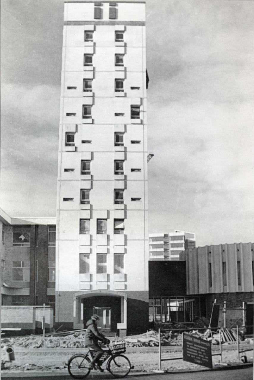 Princes Street - new Divisional Police HQ 1968