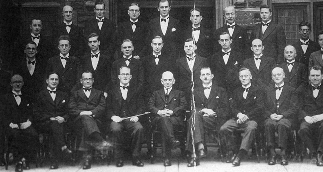 GWR Works, Swindon Staff Portrait, 1935