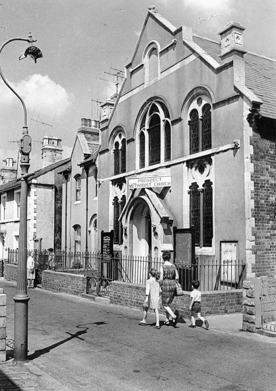 Prospect Place, Prospect Methodist Church, 1968