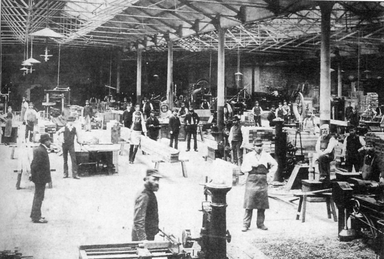 GWR,  Carriage & Wagon works, Sawmill