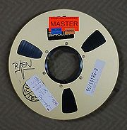 One-inch open reel tape