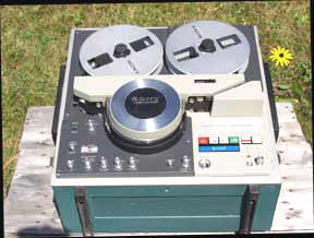 One-inch tape player